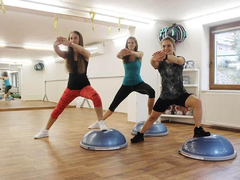 Bosu aerobic